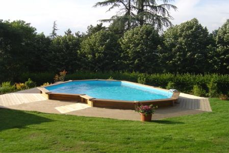Piscine semi enterre pas cher for Piscine pas cher semi enterree